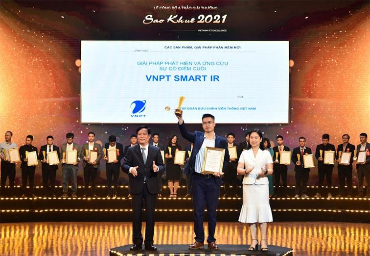 Sao Khuê 2021: VNPT Smart IR - Giải pháp công nghệ giúp nhà quản lý doanh nghiệp quản trị an toàn hệ thống