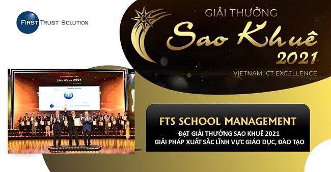 FTS School Management – Giải Pháp Phần Mềm Quản Lý Trường Học Tổng Thể Được Vinh Danh Tại Sao Khuê 2021