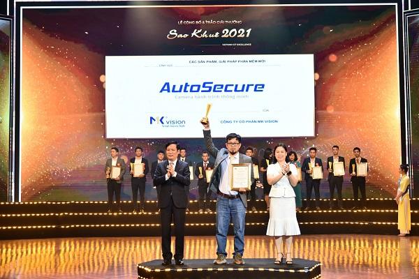 Sao Khuê 2021: AutoSecure - người bạn đồng hành của tài xế trên mọi nẻo đường